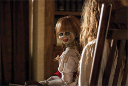 I know, you're wondering why anyone would make such a creepy doll in the first place, right?  Yeah, I get that a lot...